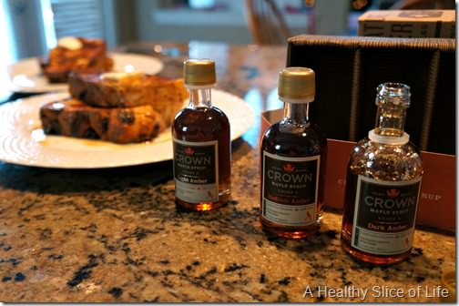 christmas- french toast crown maple syrup