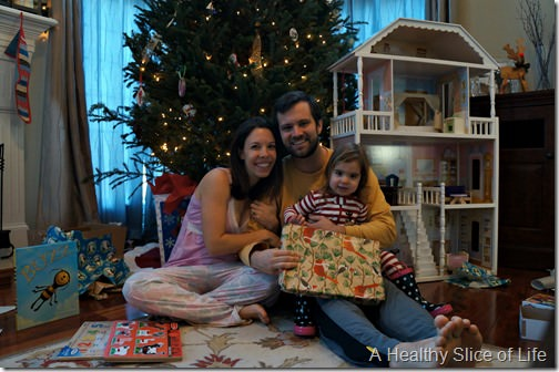 christmas- morning family