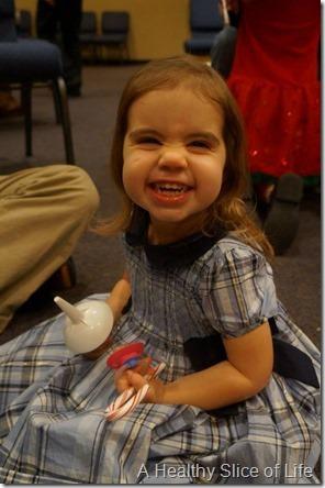 hailey at church