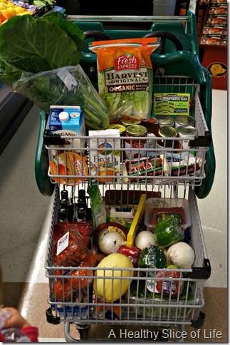 lowe's foods grocery cart