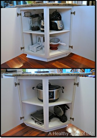 kitchen organization- appliances together