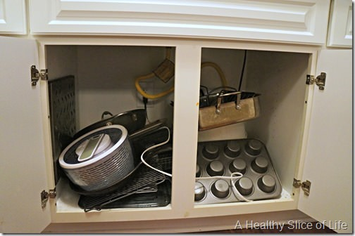 kitchen organization- crazy cabinets