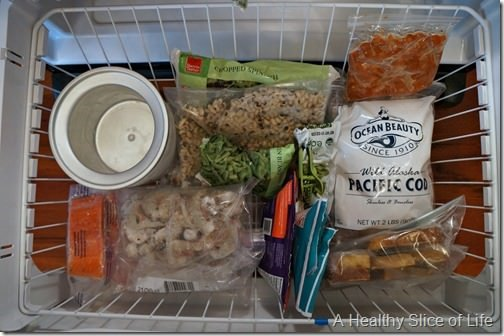 organization challenge day 5- freezer clean out after