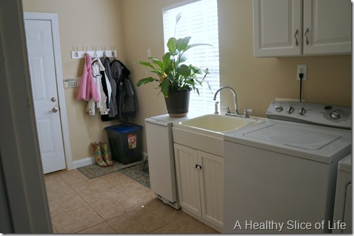organization challenge- laundry room after 2