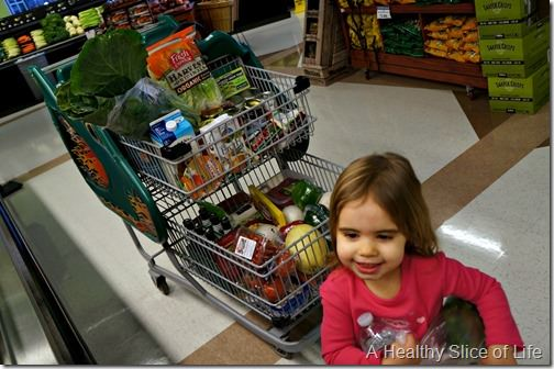 toddler meal prep- grocery store participation