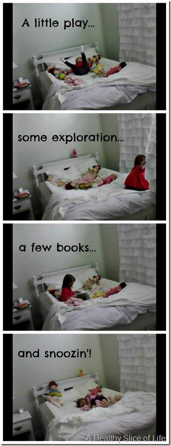 big girl room transition- first nap 1