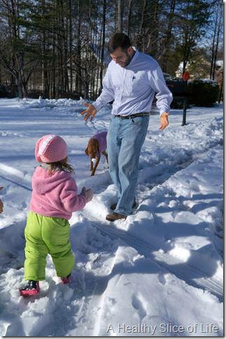 charlotte snow storm February 2014- play 2