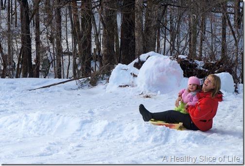 charlotte snow storm February 2014- play 3