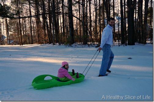 charlotte snow storm February 2014- play 5