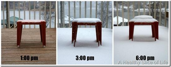 charlotte snow storm February 2014- snow