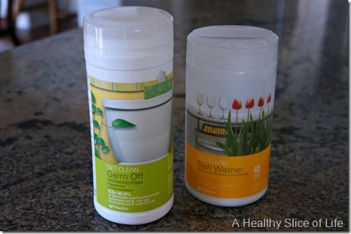 green home cleaners- Shaklee germ off wipes and dish washer concentrate