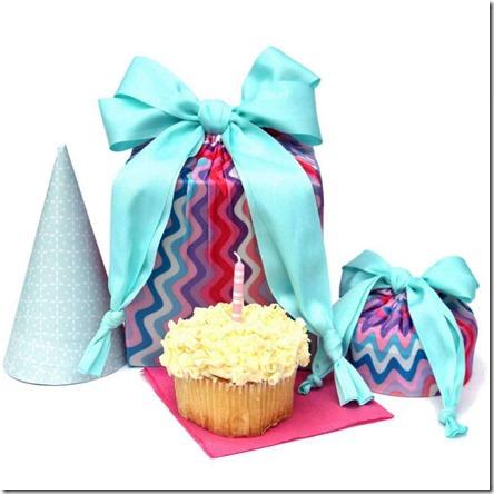 lily wrap- reusable gift wrap