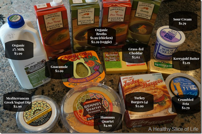 trader joes- detailed shopping list and prices 2