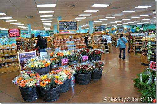 trader joes shopping- inside