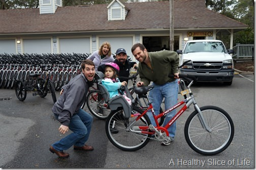 hilton head island vacay- bike rental
