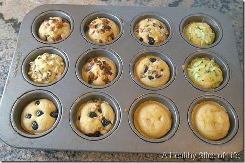 pancake muffins- bake 13 minutes