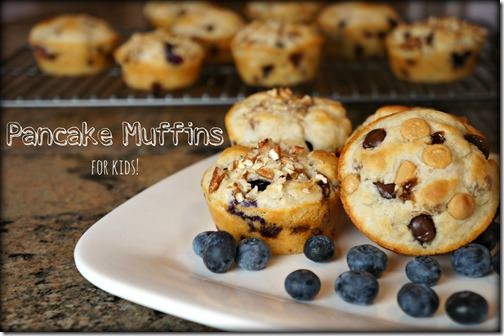 pancake muffins- for kids