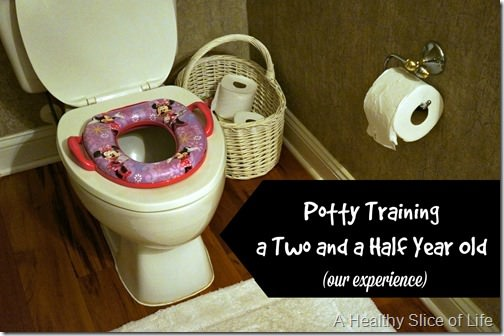 our experience potty training- toddler- 3 day method-