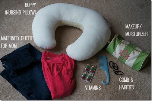 what's in my hospital bag for delivery- 4