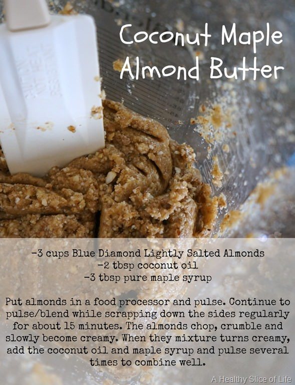 Coconut Maple Almond Butter