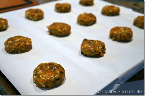 carrot cake lactation breakfast cookies- precooked