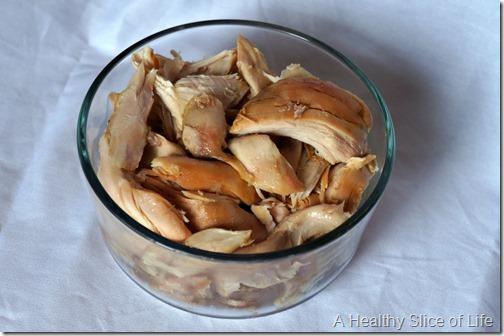 sunday food prep- rotisserie chicken
