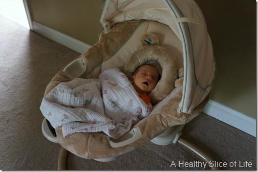 swing nap 3 weeks old
