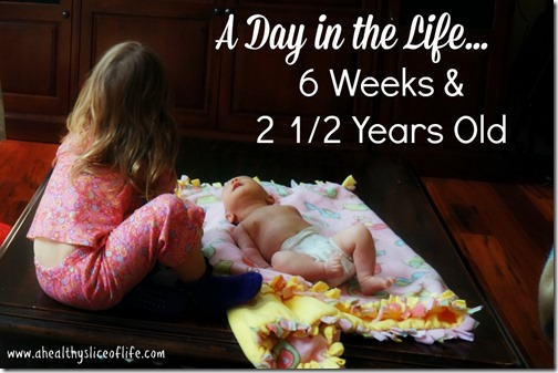day in the life 6 month and 2.5 years- detailed