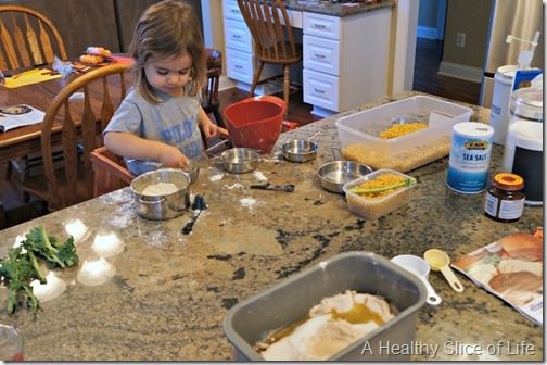 kids in the kitchen- mess