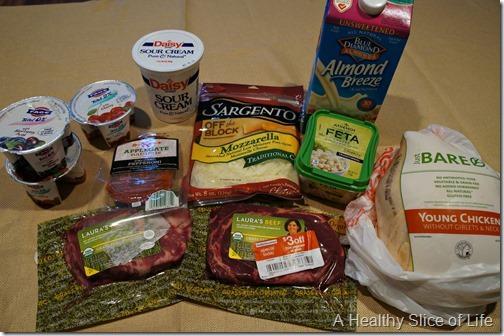 Target grocery haul
