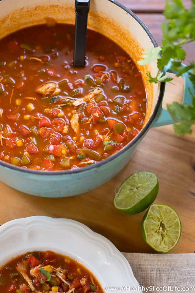 easy 30 minute homemade chicken tortilla soup recipe
