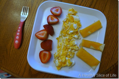 toddler meals- breakfast