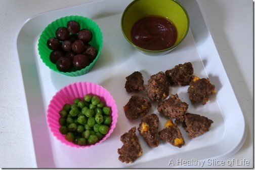 toddler meals- burger bites