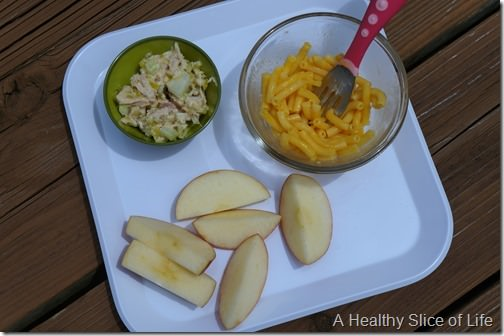 toddler meals- tuna salad