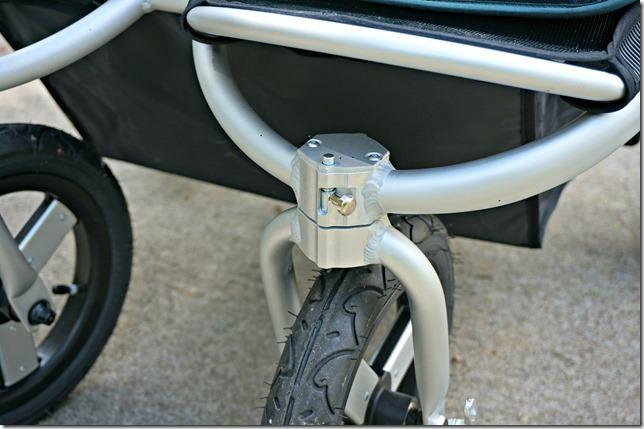 bumbleride indie twin- wheel lock