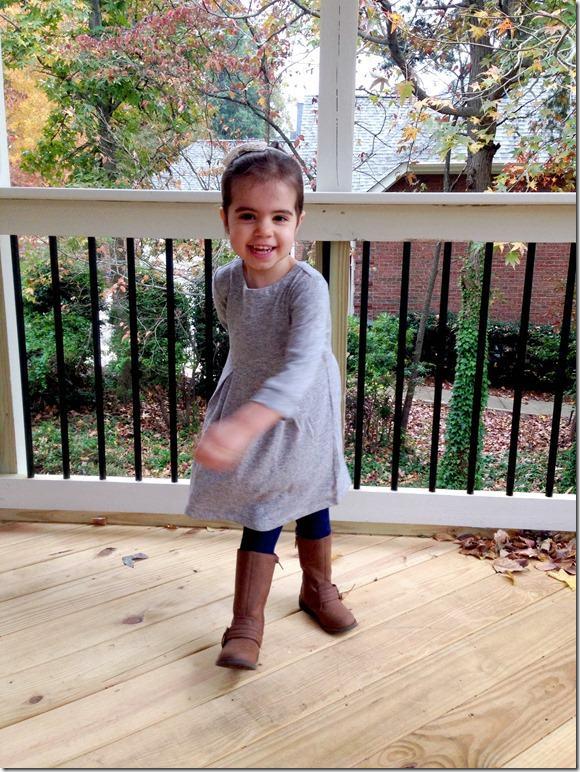 fall fashion preschooler