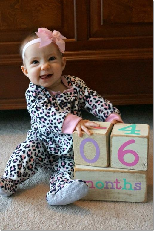 kaitlyn 6 months old