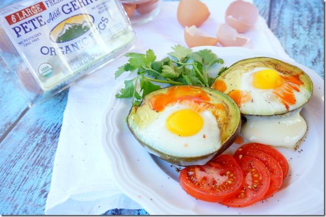 pete and gerry organic eggs avocado egg bake