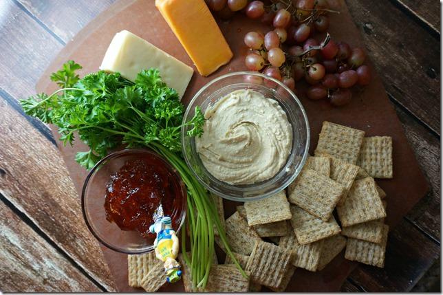 christmas- snack platter