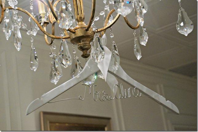 8 wedding hanger