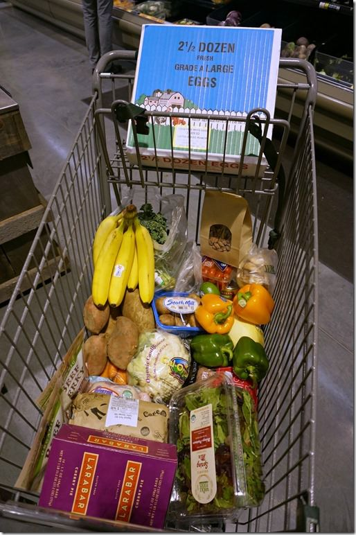 paleo 10 day challenge grocery cart 1