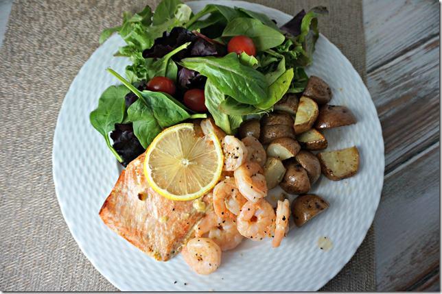 paleo challenge- lemon dijon salmon