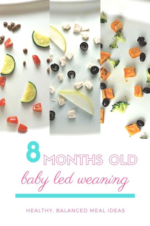healthy meals baby led weaning