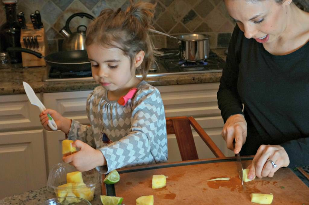 10 Kitchen Tasks for a Three-Year-Old