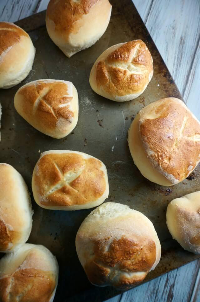 bread machine rolls