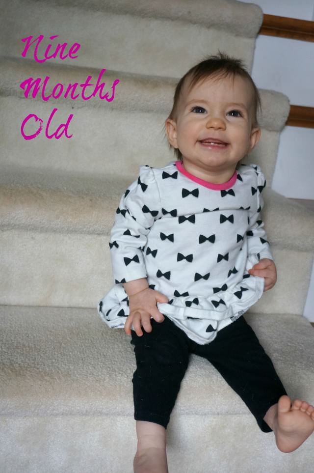 kaitlyn nine months old