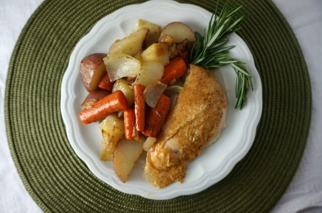 roasted lemon rosemary chicken