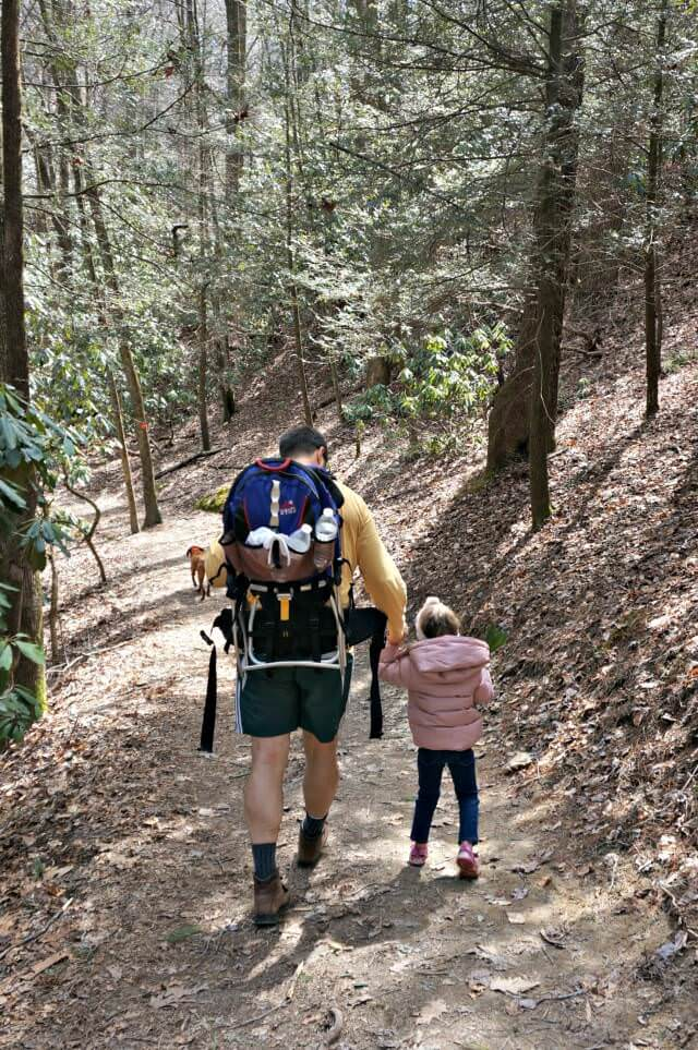 stone mountain state park north carolina- daddy daughter