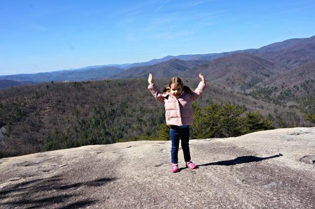stone mountain state park north carolina- the summit