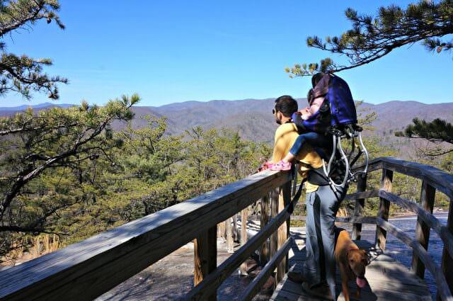 stone mountain state park north carolina- vista